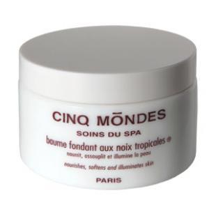 Бальзам для тела CINQ MONDES Baume Fondant aux Noix Tropicales 200ml