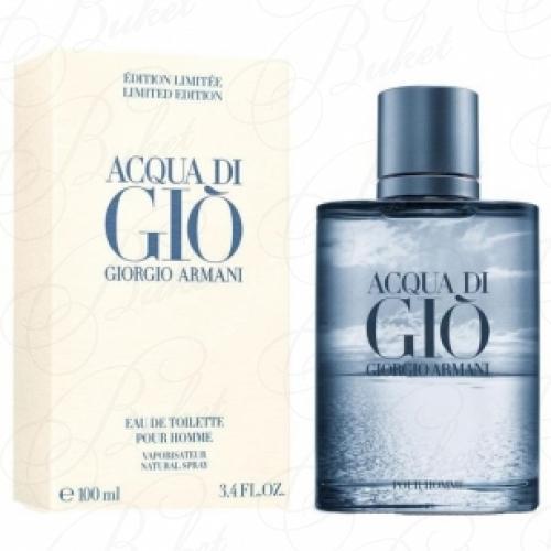 Туалетная вода Armani ACQUA DI GIO BLUE EDITION POUR HOMME 200ml edt
