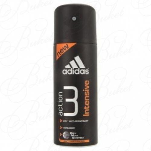 Дезодорант спрей Adidas ACTION 3 INTENSIVE deo spray 150ml