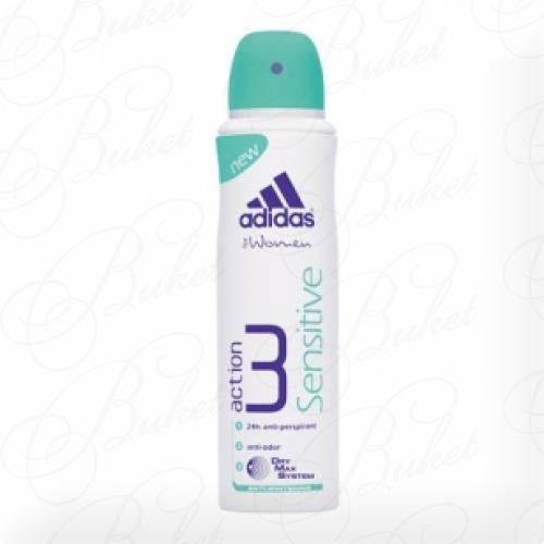 Дезодорант спрей Adidas ACTION 3 SENSITIVE deo spray 150ml