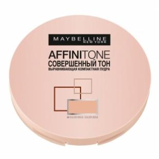 Пудра для лица MAYBELLINE MAKE UP AFFINITONE №24 Golden Beige/Золотисто-бежевый