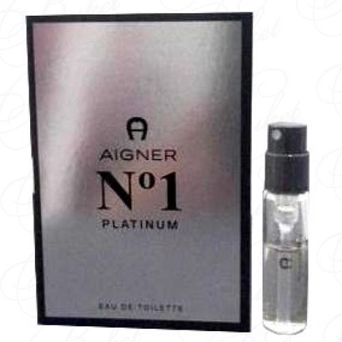 Пробники Aigner AIGNER №1 PLATINUM 1.5ml edt