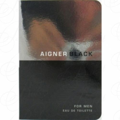 Пробники Aigner AIGNER BLACK FOR MEN 1.2ml edt