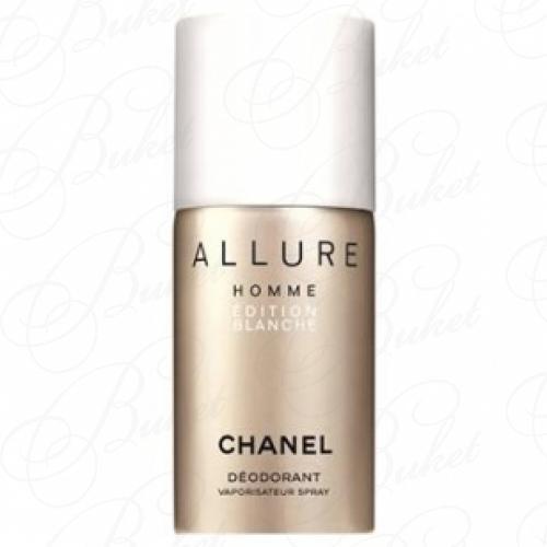 Дезодорант спрей Chanel ALLURE HOMME BLANCHE deo 100ml