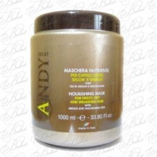 Маска для волос DIKSON ANDY MASCHERA NUTRIENTE 1000ml
