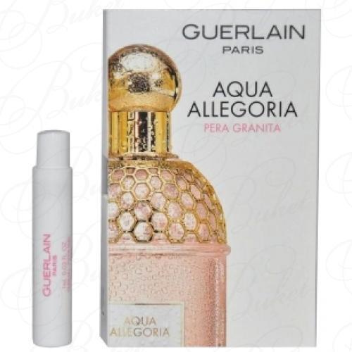Пробники Guerlain AQUA ALLEGORIA PERA GRANITA 0.7ml edt