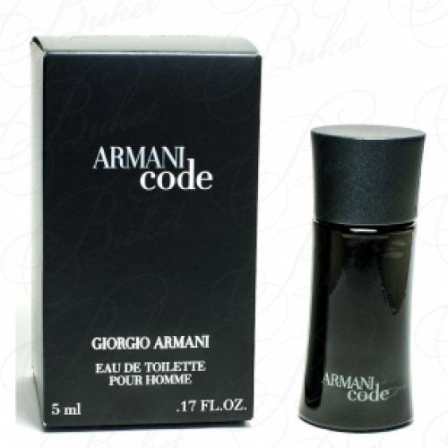 Миниатюры Armani ARMANI CODE MEN 4ml edt