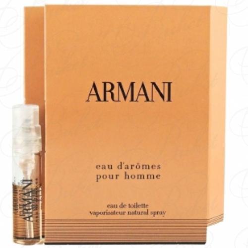 Пробники Armani ARMANI EAU D`AROMES 1.5ml edt
