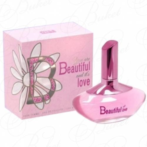 Тестер Art Parfum BEAUTIFUL LOVE 100ml edt TESTER
