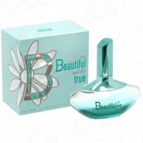 Туалетная вода Art Parfum BEAUTIFUL TRUE 100ml edt