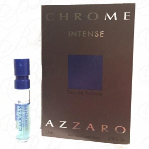 Пробники Azzaro CHROME INTENSE 1.5ml edt