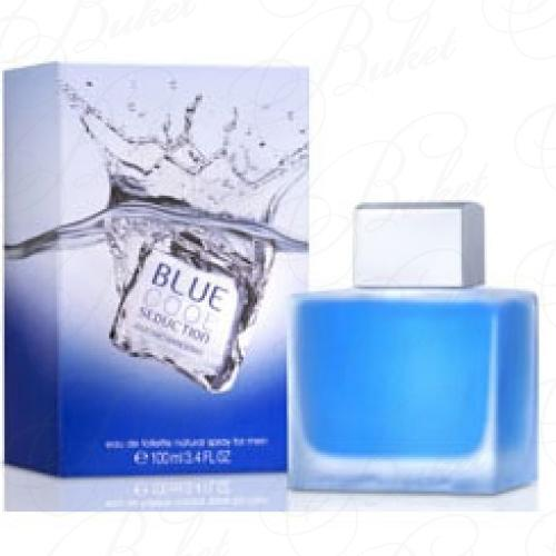 Тестер Antonio Banderas BLUE COOL SEDUCTION FOR MEN 100ml edt TESTER