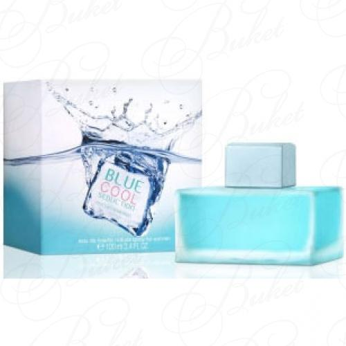 Туалетная вода Antonio Banderas BLUE COOL SEDUCTION FOR WOMEN 100ml edt