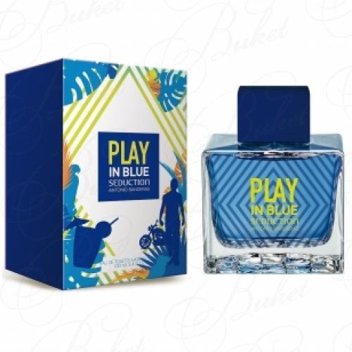 Туалетная вода Antonio Banderas BLUE SEDUCTION PLAY FOR MEN 100ml edt