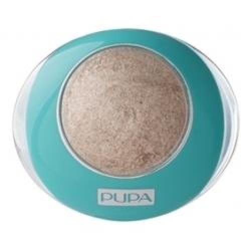 COLLECTION Тени для век PUPA MAKE UP BLUE PARADISE LUMINYS №01 Sand Beige/Песчано-Бежевый
