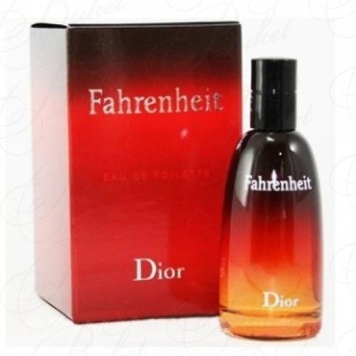 Миниатюры Christian Dior FAHRENHEIT 10ml edt