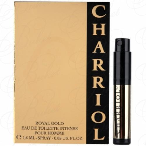 Пробники Charriol CHARRIOL ROYAL GOLD 1.7ml edt