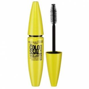 Тушь для ресниц MAYBELLINE MAKE UP THE COLOSSAL VOLUM EXPRESS 100% Black Черная
