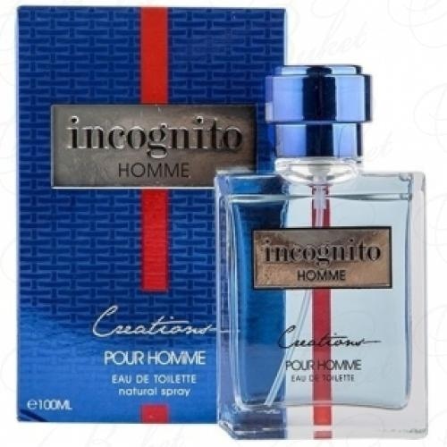 Туалетная вода Creations INCOGNITO HOMME 100ml edt