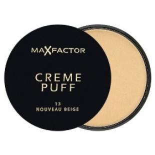 Пудра для лица MAX FACTOR MAKE UP CREME PUFF №13 Nouveau Beige/Новый Бежевый
