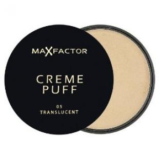 Пудра для лица MAX FACTOR MAKE UP CREME PUFF №05 Translucent/Прозрачный