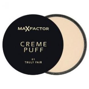 Пудра для лица MAX FACTOR MAKE UP CREME PUFF №81 Truly Fair/Светлый
