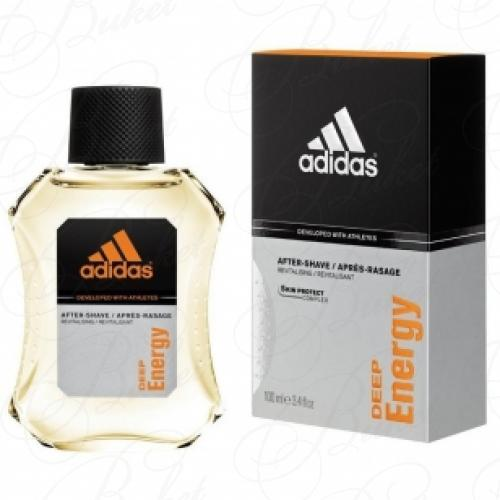 Лосьон после бритья Adidas DEEP ENERGY a/sh 100ml