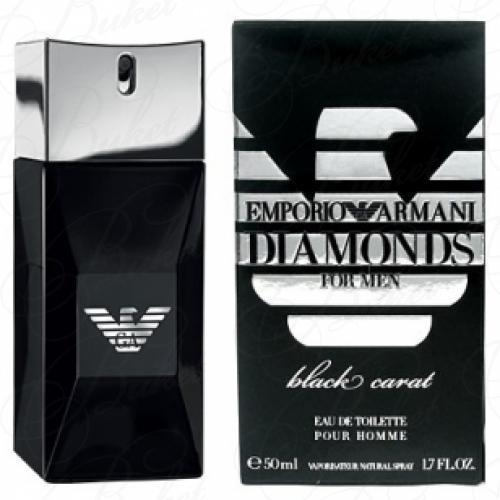 Туалетная вода Armani EMPORIO ARMANI DIAMONDS BLACK CARAT FOR MEN 50ml edt
