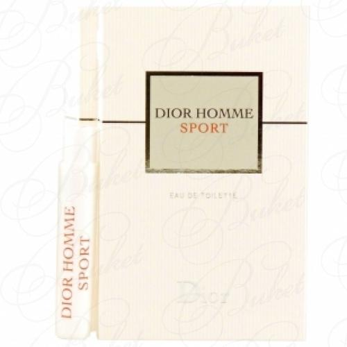 Пробники Christian Dior DIOR HOMME SPORT 2012 1ml edt