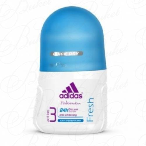 Дезодорант роликовый Adidas DRY MAX FRESH deo-roll 50ml