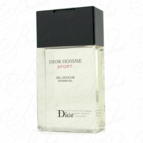 Гель для душа Christian Dior DIOR HOMME SPORT sh/gel 150ml