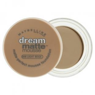 Тональный крем MAYBELLINE MAKE UP DREAM MATTE MOUSE №008 Light Beige/Светло-Бежевый