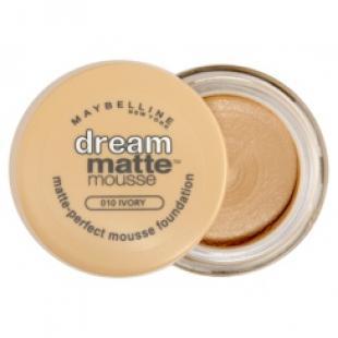 Тональный крем MAYBELLINE MAKE UP DREAM MATTE MOUSE №010 Ivory/Слоновая кость