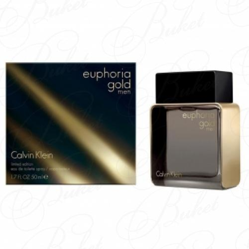 Туалетная вода Calvin Klein EUPHORIA GOLD FOR MEN 50ml edt