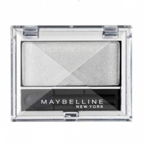 Тени для глаз MAYBELLINE MAKE UP EYESTUDIO MONO №01 Snow White/Белый
