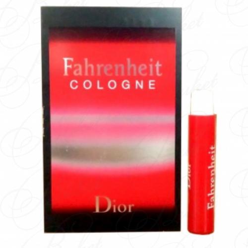 Пробники Christian Dior FAHRENHEIT COLOGNE 1ml edt