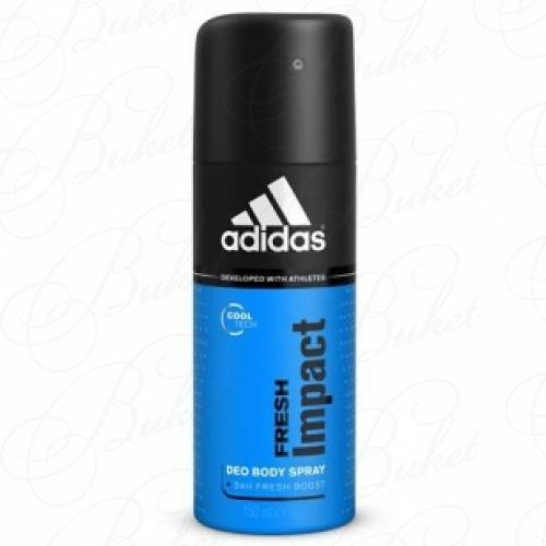 Дезодорант спрей Adidas FRESH IMPACT deo spray 150ml
