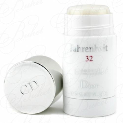 Дезодорант стик Christian Dior FAHRENHEIT 32 deo-stick 75ml