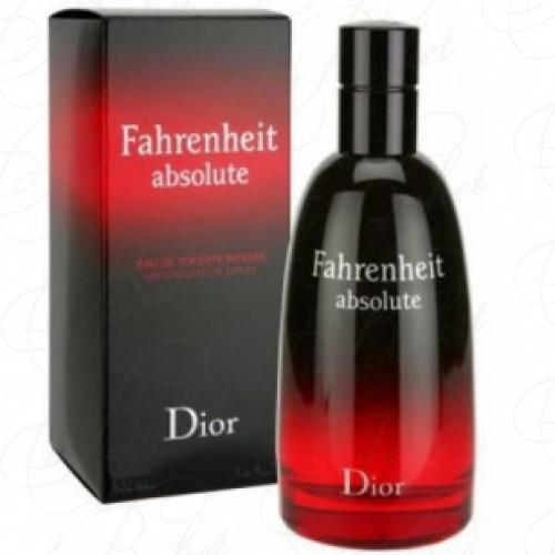 Туалетная вода Christian Dior FAHRENHEIT ABSOLUTE INTENSE 100ml edt