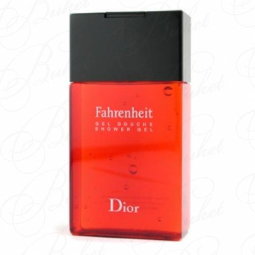 Гель для душа Christian Dior FAHRENHEIT sh/gel 150ml