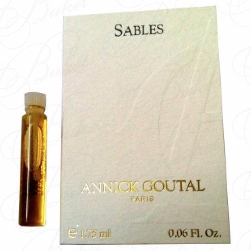 Пробники Annick Goutal SABLES 1.75ml edt
