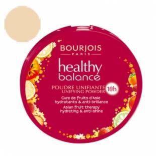 Пудра BOURJOIS MAKE UP HEALTHY BALANCE №52 Vanille