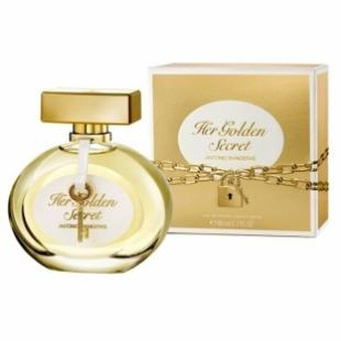 Antonio Banderas HER GOLDEN SECRET 80ml edt TESTER