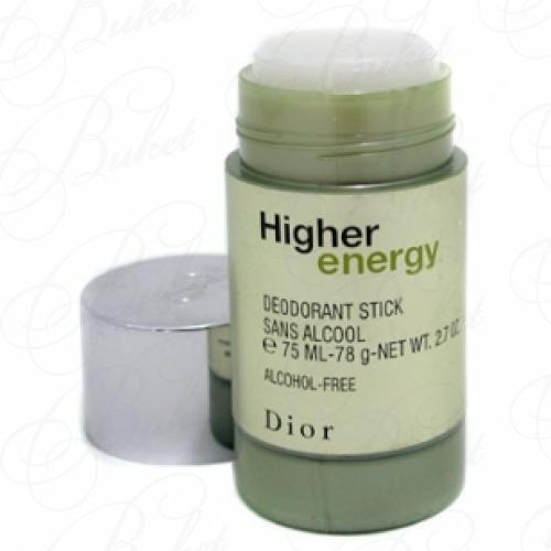 Дезодорант стик Christian Dior HIGHER ENERGY deo-stick 75ml