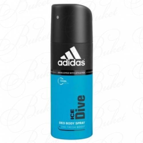 Дезодорант спрей Adidas ICE DIVE deo spray 150ml