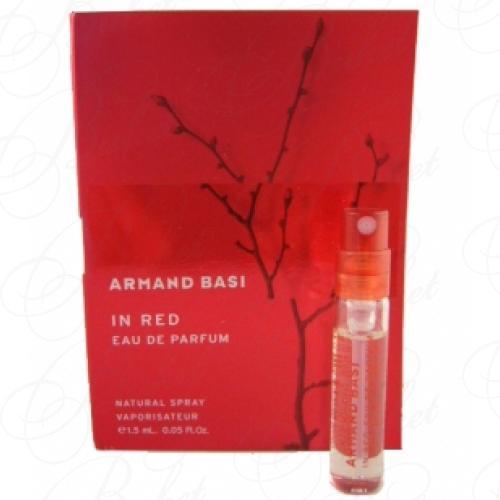 Пробники Armand Basi IN RED EAU DE PARFUM 1.2ml edp