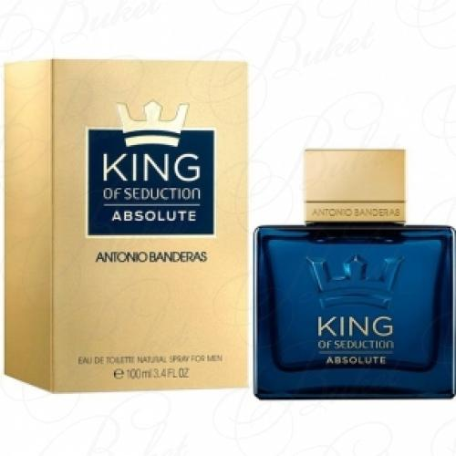 Туалетная вода Antonio Banderas KING OF SEDUCTION ABSOLUTE 200ml edt