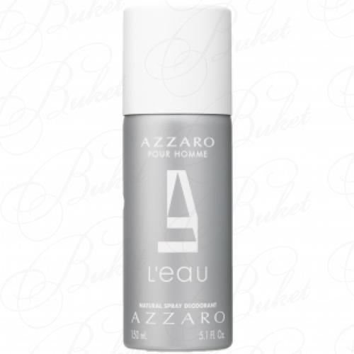 Дезодорант спрей Azzaro L` EAU AZZARO POUR HOMME deo 150ml