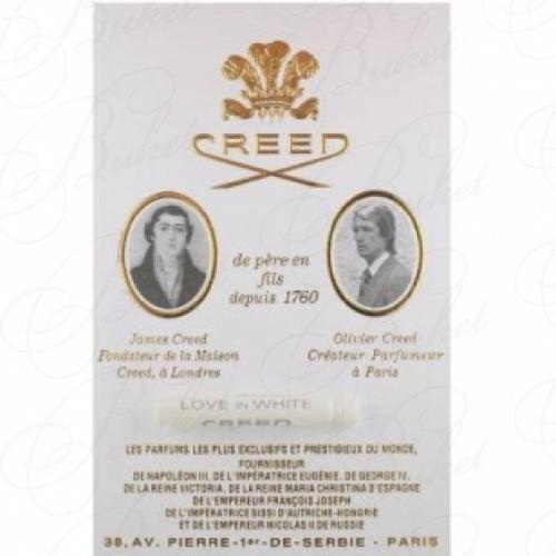 Пробники Creed LOVE IN WHITE 2.5ml edp