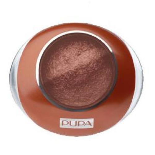 COLLECTION Тени для век PUPA MAKE UP LUMINYS PEARL №01 Copper Brown/Коричневый